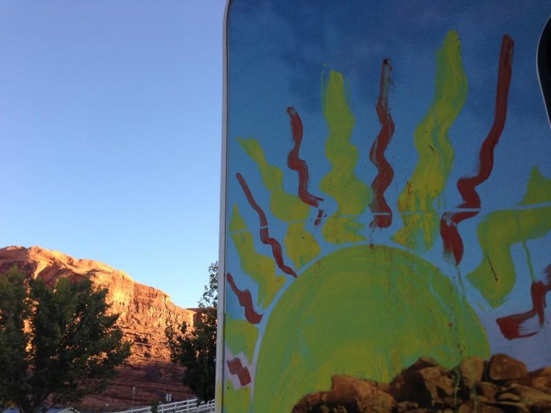 sunrise Moab