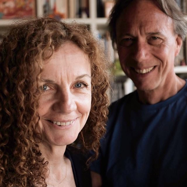 Kathy Ryan and Scott Thode